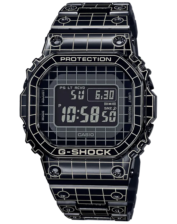 G-Shock GMWB5000CS-1 Black IP Full Metal 5000 Series