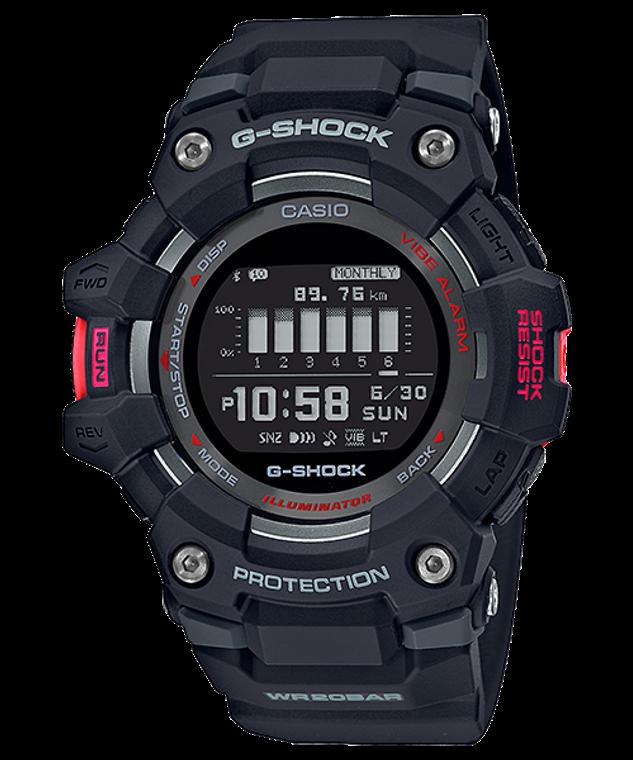 G-Shock GBD100-1 G-SQUAD Bluetooth GPS Step Counter