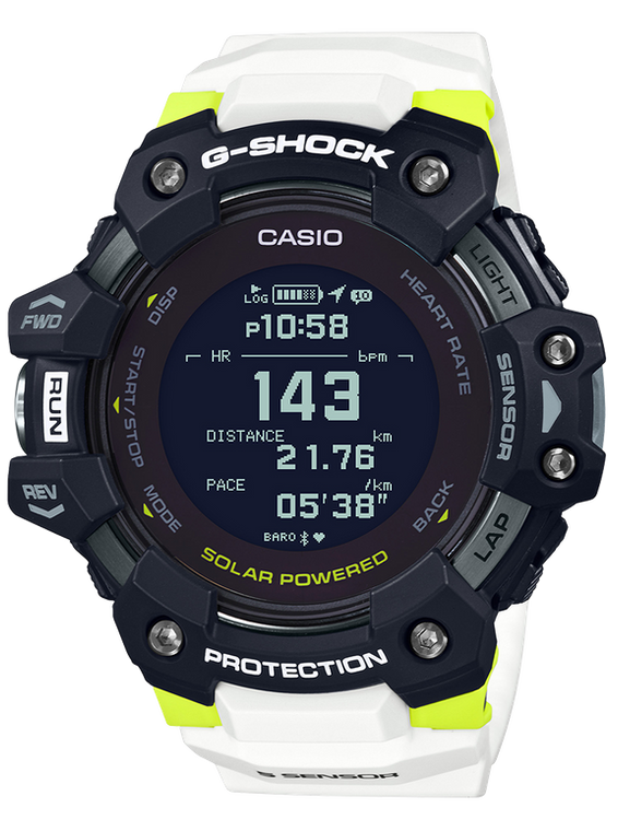 G-Shock GBDH1000-1A7 Move Heart Rate Monitor White