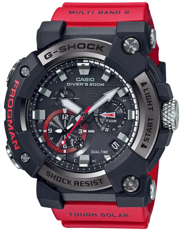 G-Shock GWFA1000-1A4 Red Frogman Master of G