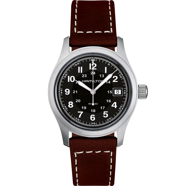 Hamilton H68411533 Khaki Quartz Field Watch // Pre-Owned