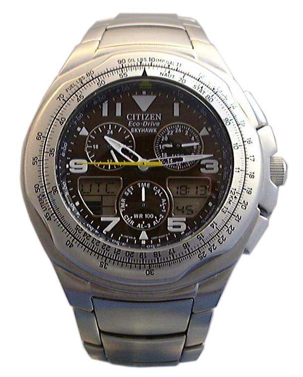 Citizen C650-Q02128 Skyhawk  // Pre-Owned