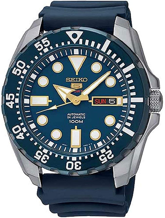 Seiko SRP605K2 Monster Auto Blue // Pre-Owned
