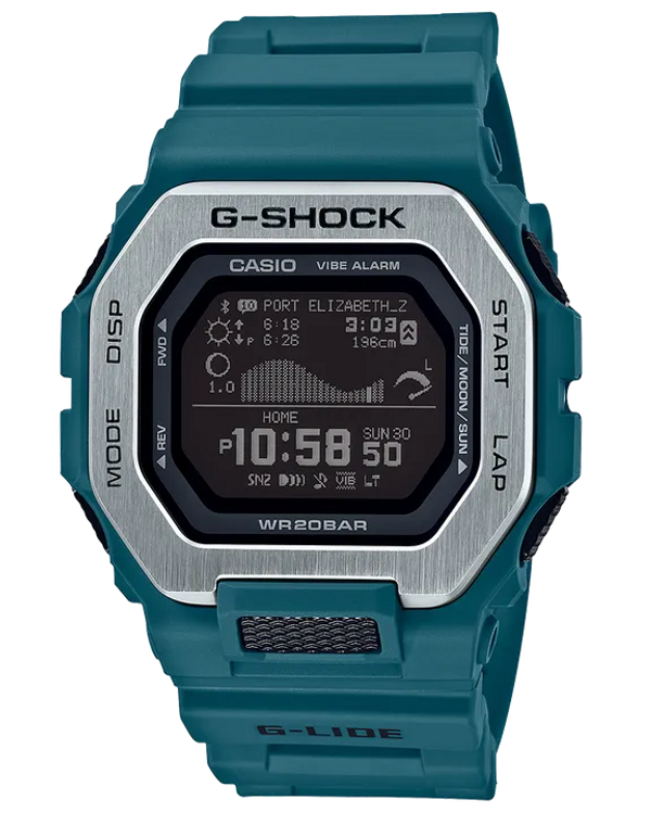 G-Shock GBX100-2 G-LIDE Tide Graph Step Counter