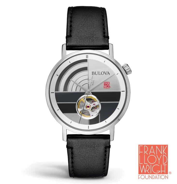 Bulova 96A248 Frank Lloyd Wright The Oculus Automatic Watch