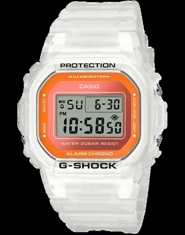 G-Shock DW5600LS-7 Semi-Transparent Fluorescent Square