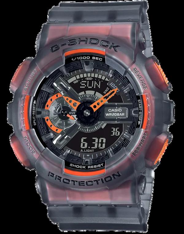 Casio G-Shock GA110LS-1A Speed Indicator Semi-Transparent