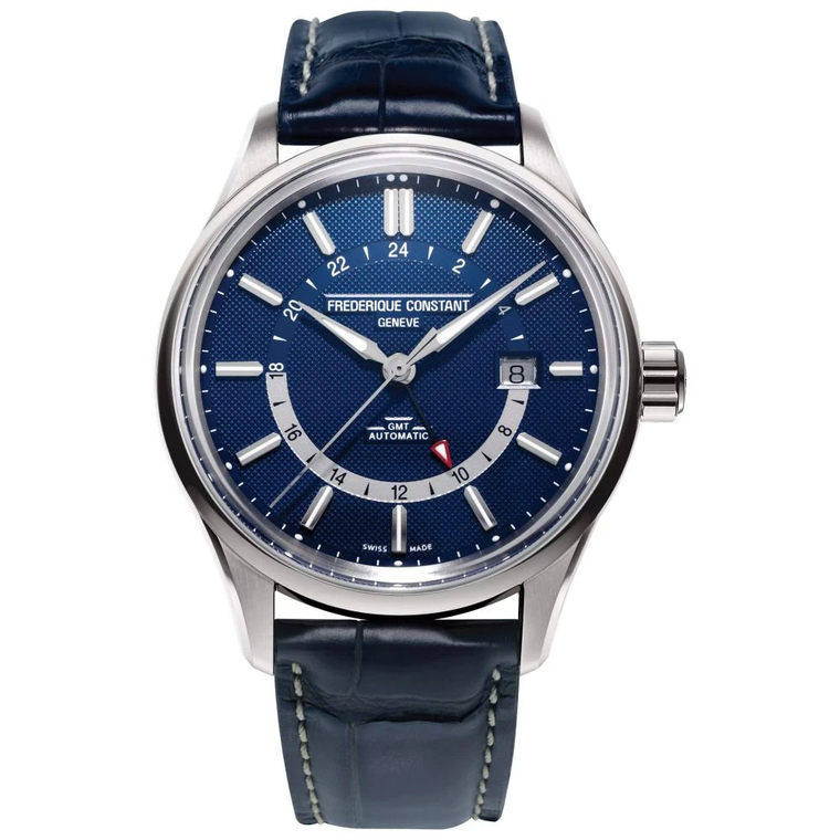 Frederique Constant FC-350NT4H6 Yacht Timer GMT Stainless Steel 100m