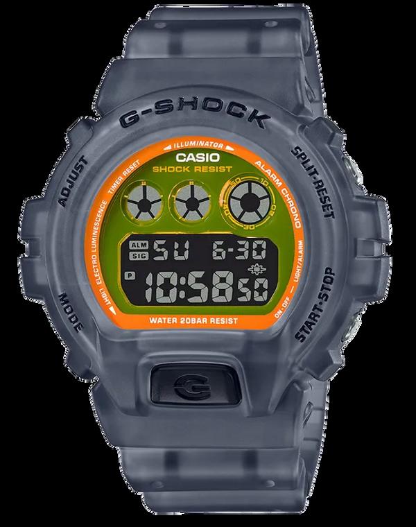Casio G-Shock DW6900LS-1 Semi-Transparent 3-Eye Digital Watch