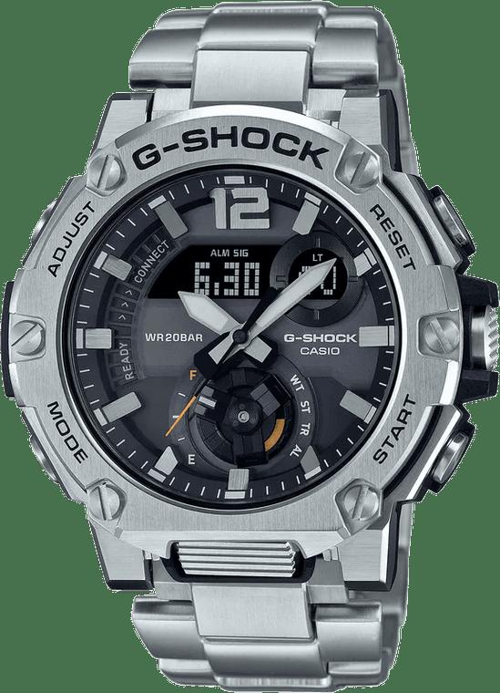 Casio G-Shock GSTB300E-5A G-STEEL Carbon Core Guard Front Button Watch