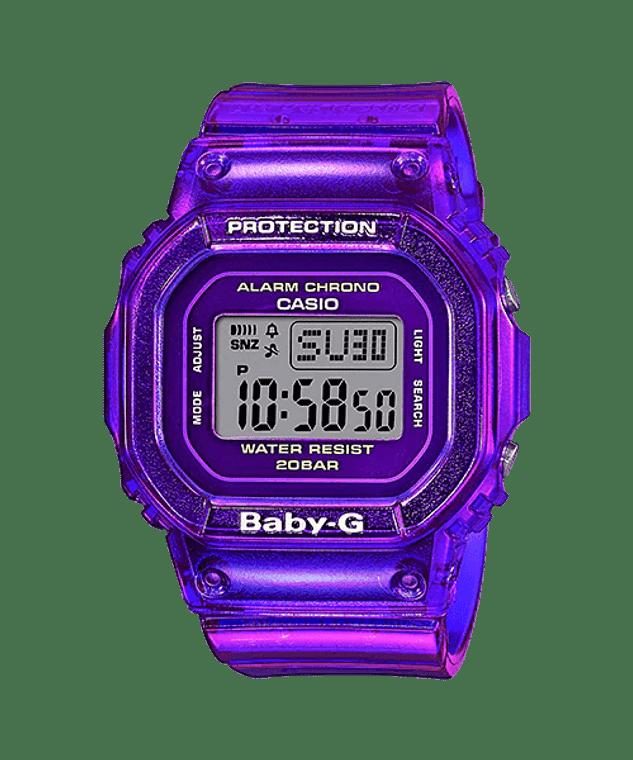 Casio G-Shock BGD560S-6 Baby-G Semi-Transparent Purple Watch