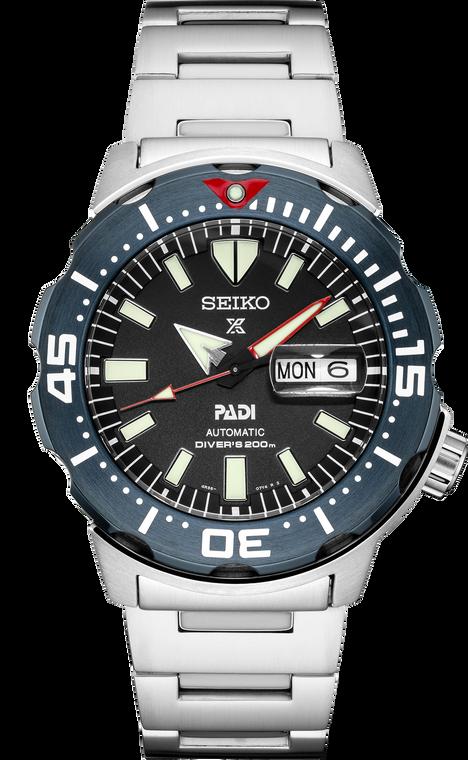 Seiko SRPE27 Prospex PADI Monster Automatic Watch