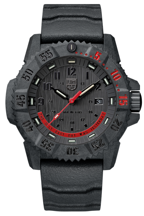 """Luminox XS.3801.EY Limited Edition Master Carbon Seal """"The Only Easy Day Was Yesterday"""""""
