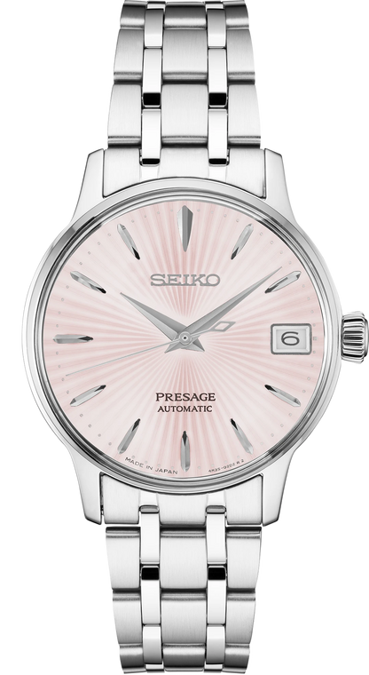 Seiko SRP839 Presage Cocktail Time Automatic Ladies Watch 33mm