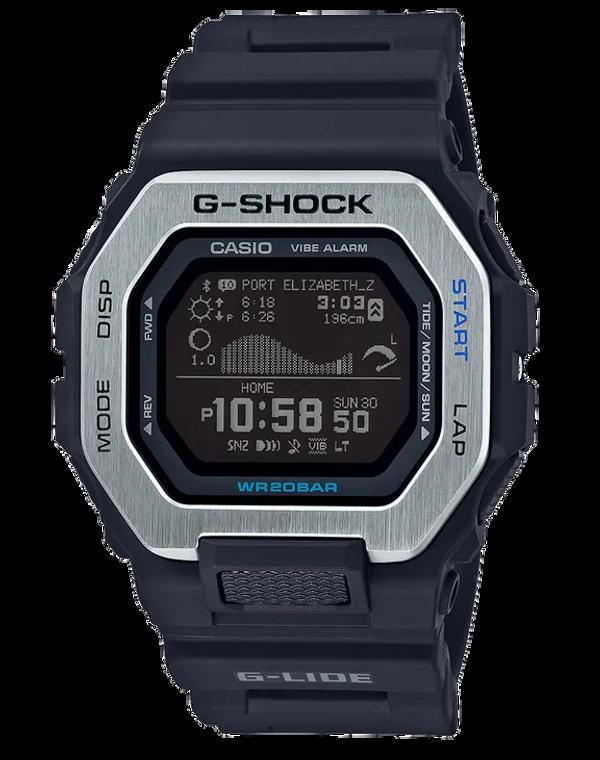Casio G-Shock GBX100-1 G-LIDE Surf Watch Black