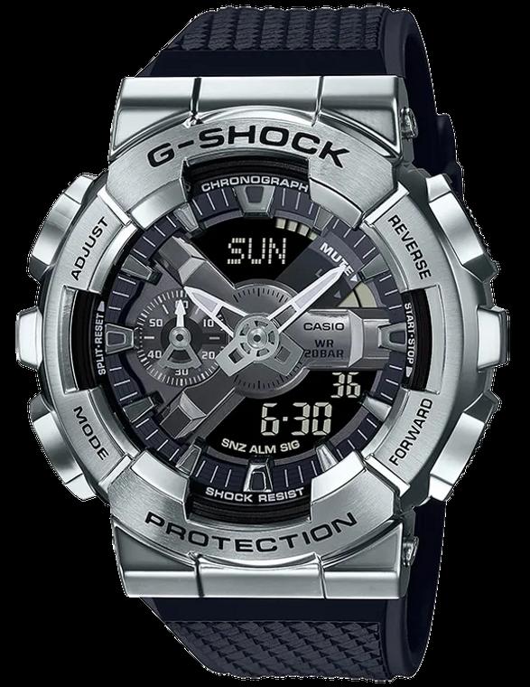Casio G-Shock GM110-1A Stainless Steel Ana-Digital Watch