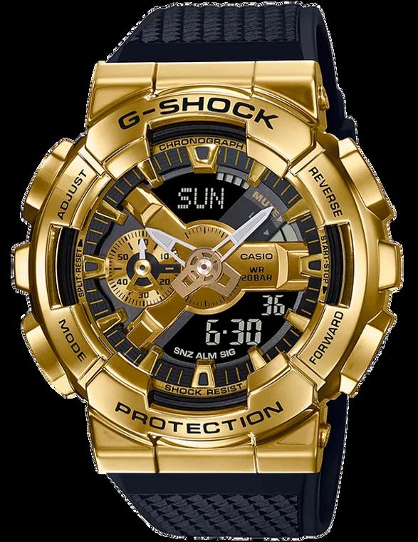 Casio G-Shock GM110G-1A9 Stainless Steel Gold Ana-Digital Watch