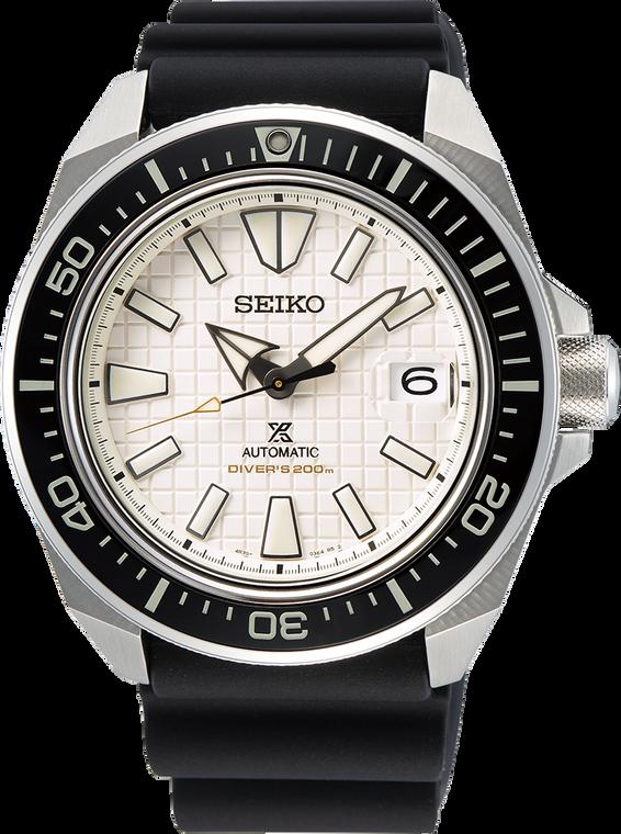 Seiko SPRE37 King Samurai White Dial Diver