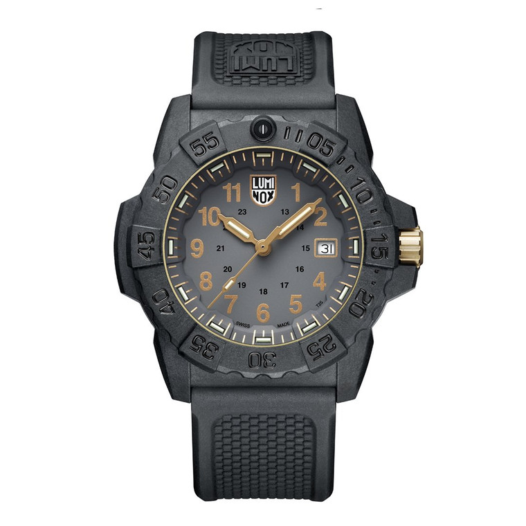 Luminox XS.3508.GOLD Navy SEAL Military Dive Watch