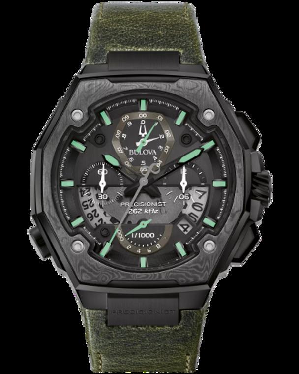 Bulova 98B355 Precisionist X Special Edition Damascus Chronograph
