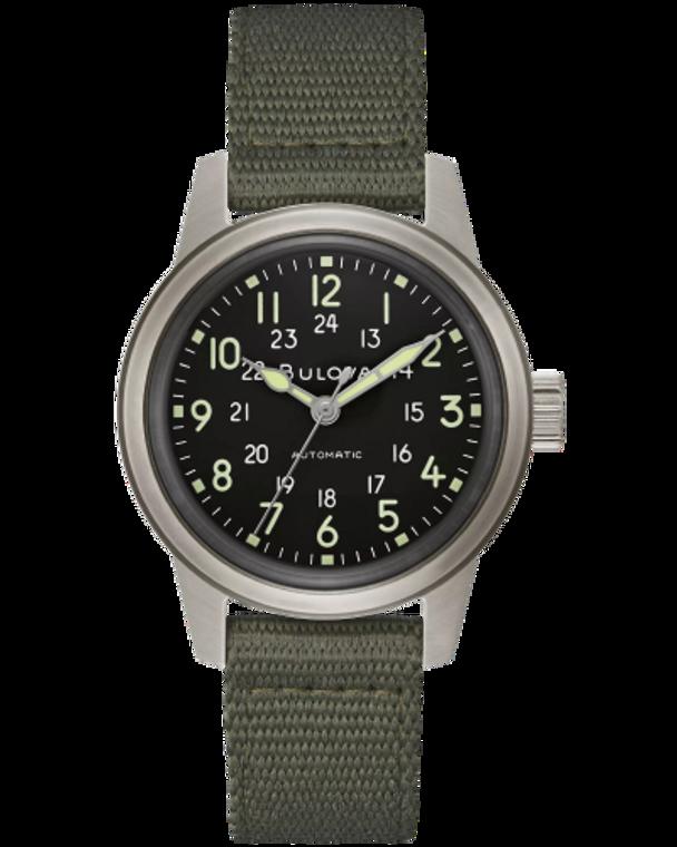 Bulova 96A259 VWI Special Edition HACK Watch Automatic