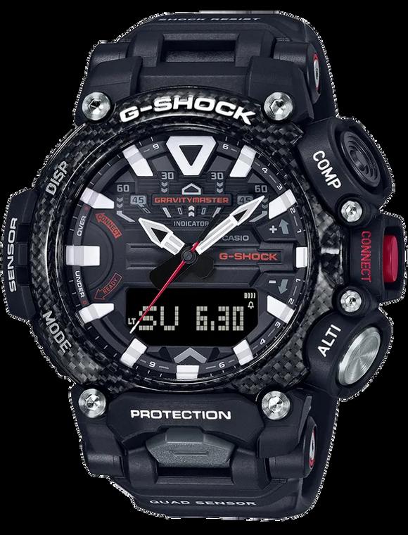 Casio G-Shock GRB200-1A Quad Sensor Gravity Master Carbon Core