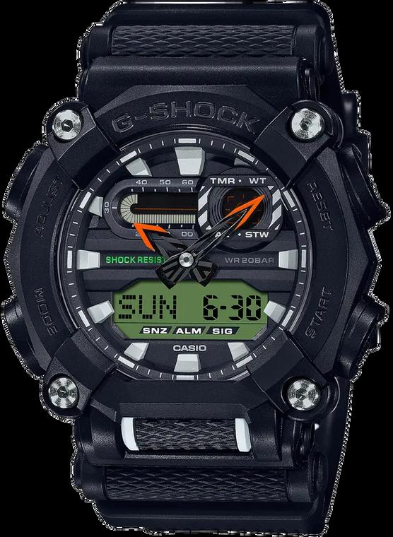 Casio G-Shock GA900E-1A3 Heavy Duty Ana-Digital and Additional Strap