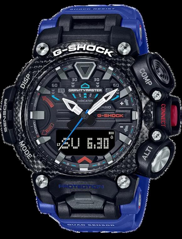 Casio G-Shock GRB200-1A2 Quad Sensor Gravity Master Carbon Core