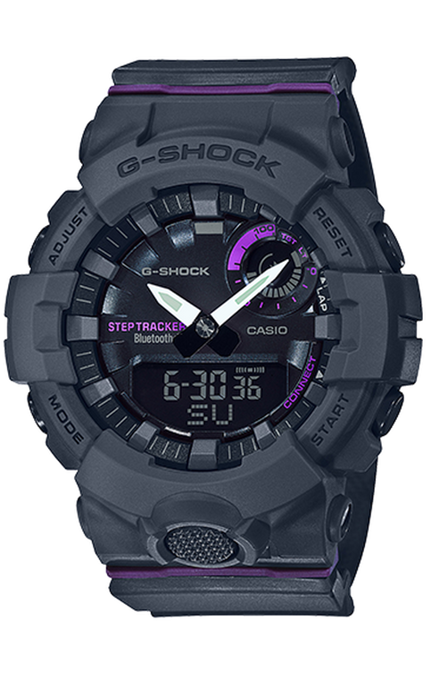 G-Shock GMAB800-8A S Series Bluetooth Step Tracker Purple // Pre-Owned