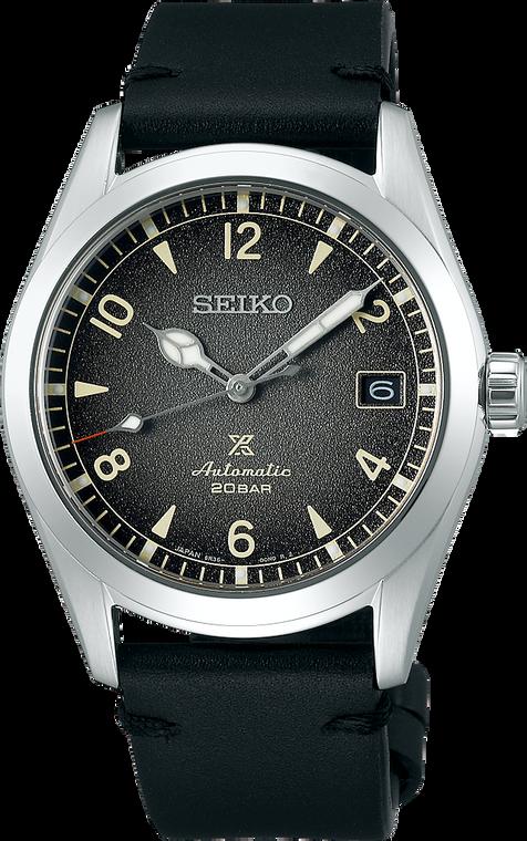 Seiko Prospex SPB159 Alpinist Black Textured Dial