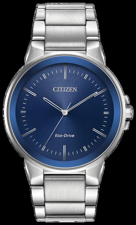 Citizen BJ6510-51L Eco-Drive Axiom Blue Dial