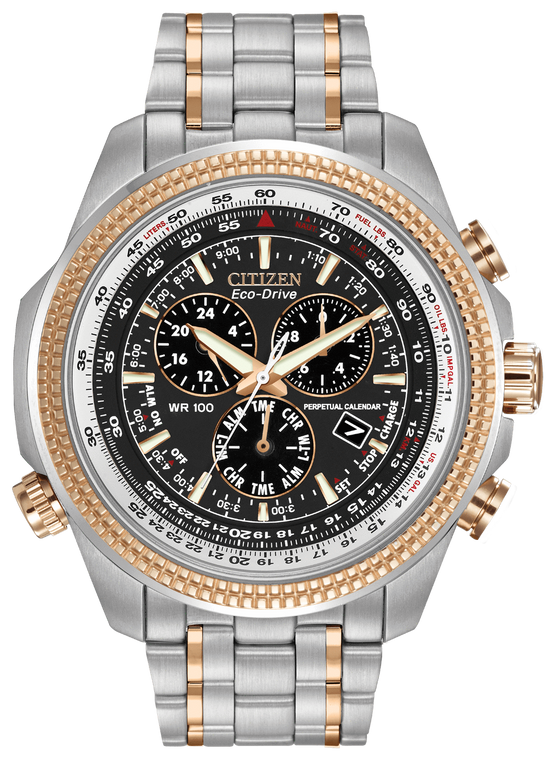 Citizen BL5406-56L Eco-Drive Chronograph Two-Tone Stainless
