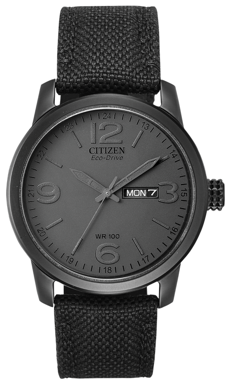 Citizen BM8475-00F Eco-Drive Chandler Day-Date Stainless