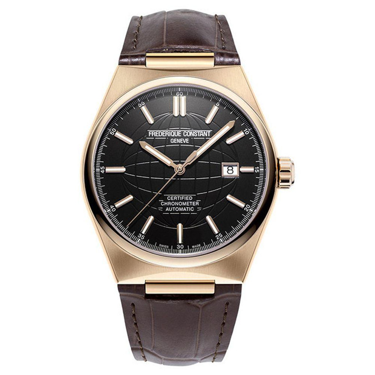 Frederique Constant FC-303B4NH4 Highlife COSC Chronometer Automatic Black Dial