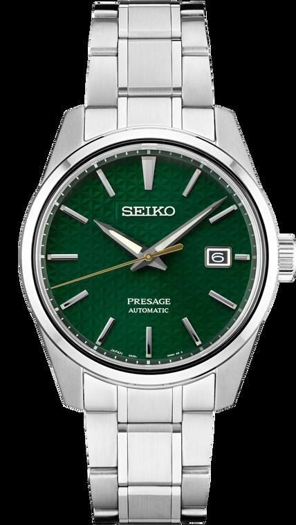Seiko Presage SPB169 Sharp Edged Series Green Dial