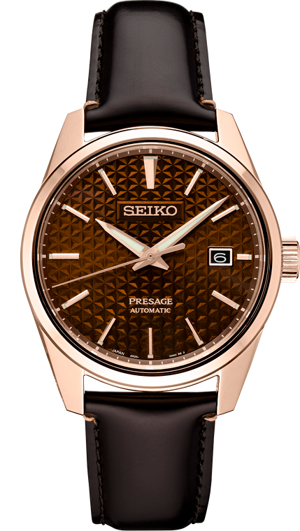 Seiko Presage SPB170 Sharp Edged Series Brown Dial