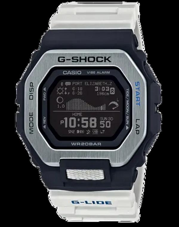 Casio G-Shock GBX100-7 G-LIDE Surf Watch White