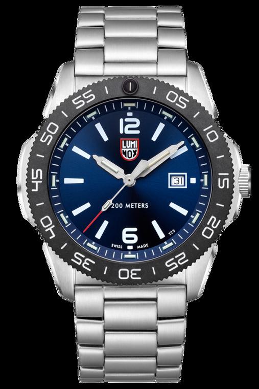 Luminox XS.3123 Pacific Diver 44mm Carbonox Blue Dial Stainless Bracelet