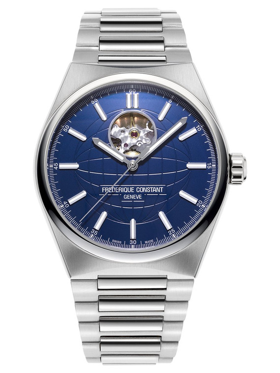 Frederique Constant FC-310N4NH6B Highlife Heart Beat Blue Dial