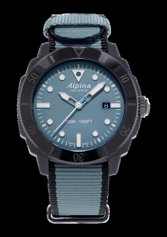 Alpina AL-525LNB4VG6BLK Seastrong Diver Gyre Gents Automatic Blue