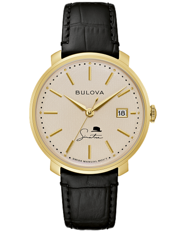 Bulova 97B195 Frank Sinatra The Best is Yet to Come Manual Wind
