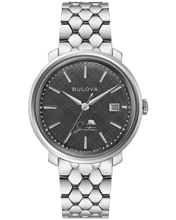 Bulova 96B346 Frank Sinatra The Best is Yet to Come Manual Wind Black Dial