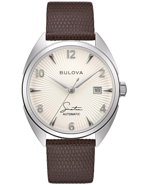 Bulova 96B347 Frank Sinatra Fly Me To The Moon Automatic Textured Dial