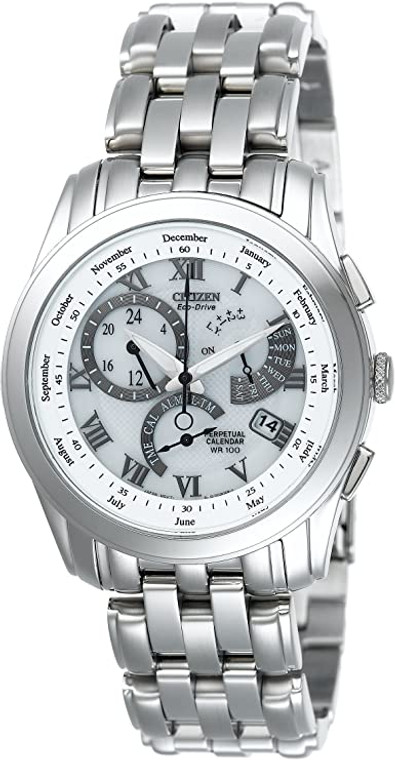 Citizen BL8000-54A Eco-Drive Chandler on Black Leather Strap // Pre-Owned
