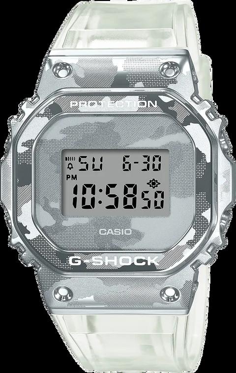 G-Shock GM5600SCM-1 Metal Covered Semi-Transparent Camouflage Square