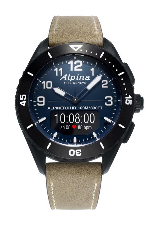 Alpina AL-284LNN5AQ6L AlpinerX Alive Heart Rate Monitor Smartwatch