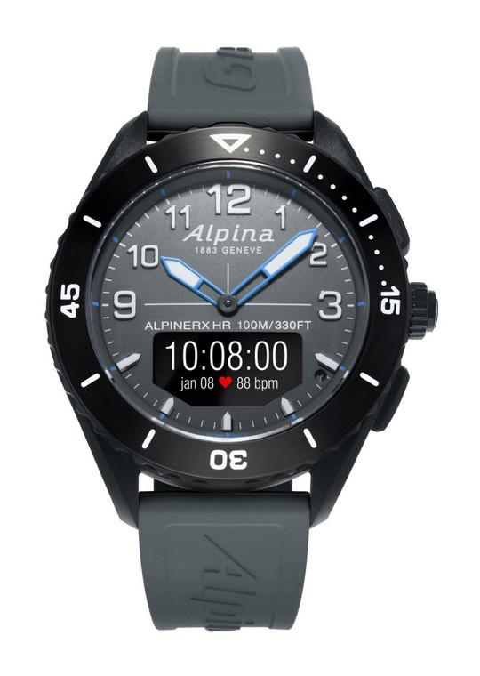 Alpina AL-284LGG5AQ6 AlpinerX Alive Heart Rate Monitor Smartwatch