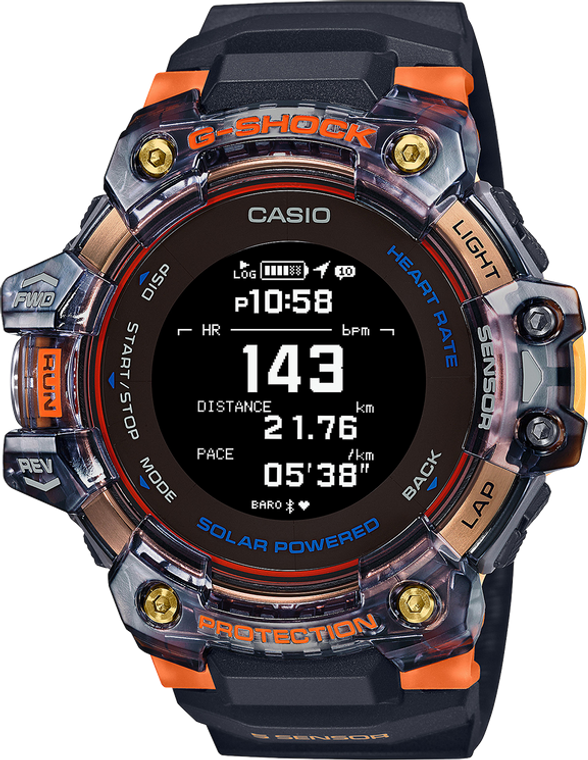 G-Shock GBDH1000-1A4 Move Heart Rate Monitor