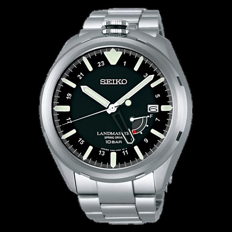 Seiko SBDB015 Prospex Landmaster Spring Drive Titanium Black Dial