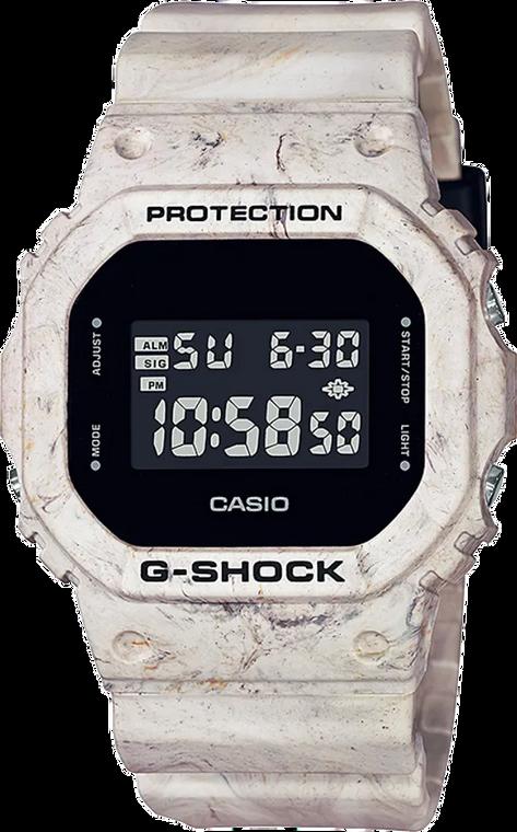 Casio G-Shock DW5600WM-5 Utility Wavy Marble Square Two Tone